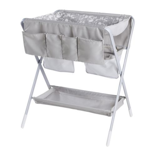 SPOLING Changing table, beige, white 001.746.70 당일발송
